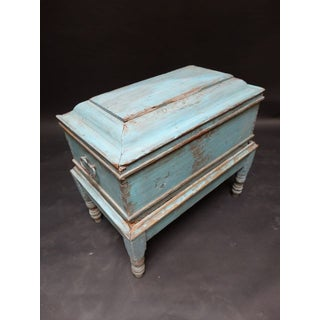 Mexican Colonial Trunk on Stand Preview