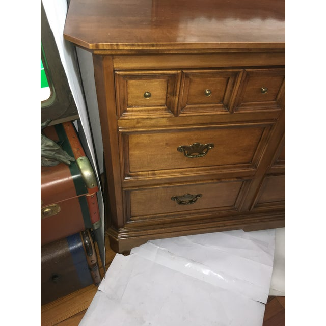 1950s Mirrored Chest of Drawers For Sale - Image 5 of 11