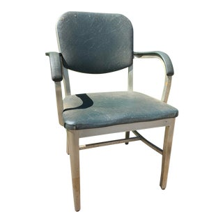 Art Metal Company Mid Century Arm Chair For Sale