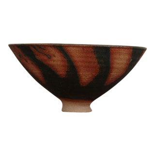 Primitive Style Mid-Century Ceramic Bowl