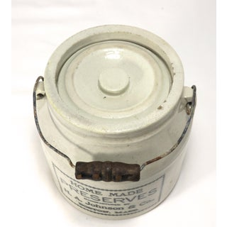 Antique Boston Stoneware Preserves Crock Preview