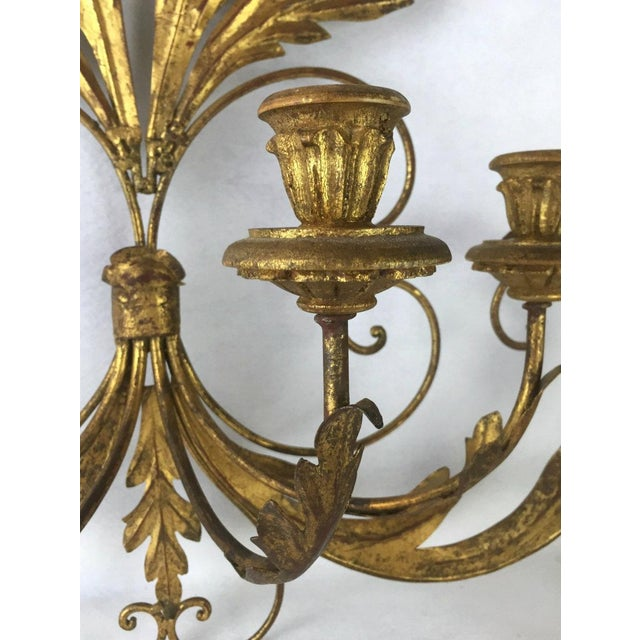 Hollywood Regency Candle Sconce For Sale - Image 4 of 11