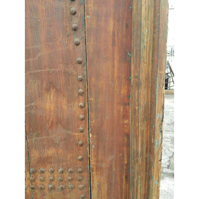 "This is an amazingly beautiful single panel Moroccan door measuring approximately 81"" in height and 43"" in width...."