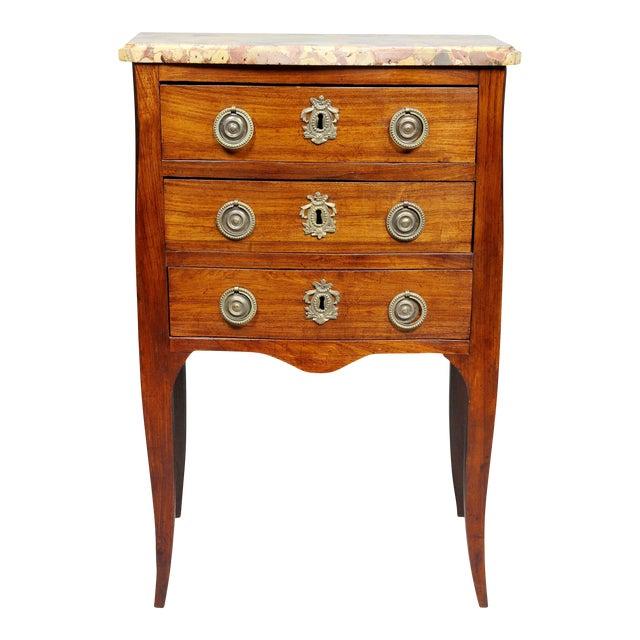 Louis XVI Mahogany Petit Commode For Sale