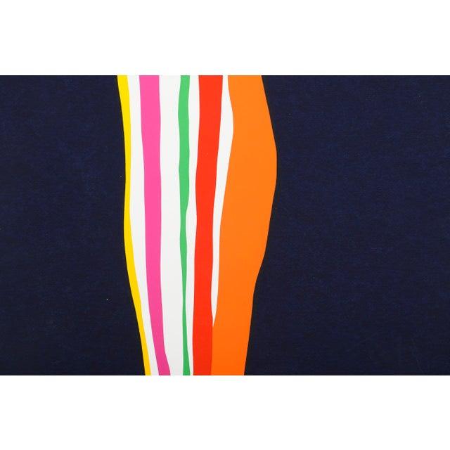 Mid-Century Modern Original Silkscreen by C. Daniel Gelakoska - May Spring, 1977 For Sale - Image 3 of 6