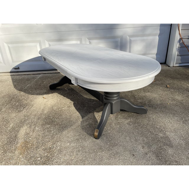 This beautiful coffee table was recently painted in two tones to really upgrade its look. Originally made around 1960,...