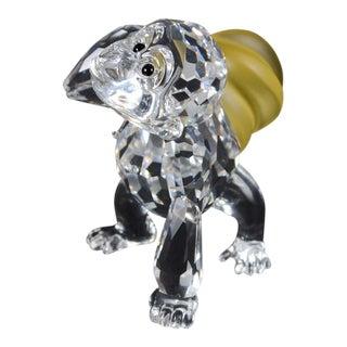 Swarovski Crystal Gorilla Figurine Carrying Bananas For Sale