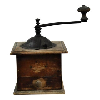 Decorative Antique Coffee Grinder