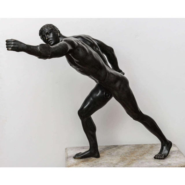 Bronze Sculpture of the Borghese Gladiator - Image 3 of 10