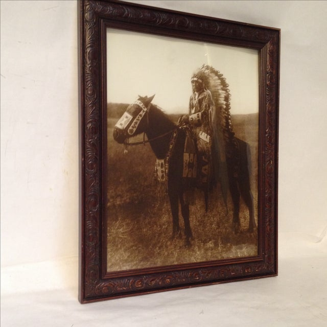 Native American Chief Hector Photograph - Image 4 of 8