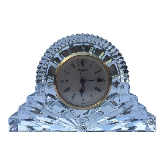 Waterford Crystal Cottage Clock For Sale