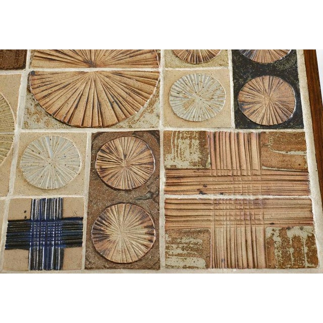 Tue Poulsen Tile Coffee Table For Sale In Los Angeles - Image 6 of 10