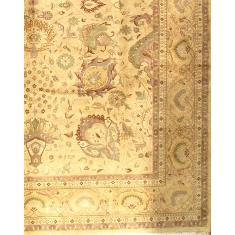 "Pasargad NY Sultanabad Design Hand-Knotted Rug - 9'2"" x 12' - Image 2 of 2"