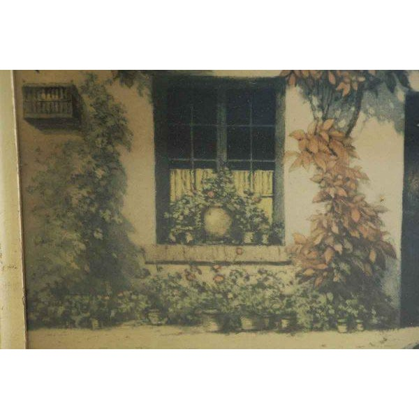 Framed Pastoral Home Print For Sale In New York - Image 6 of 6