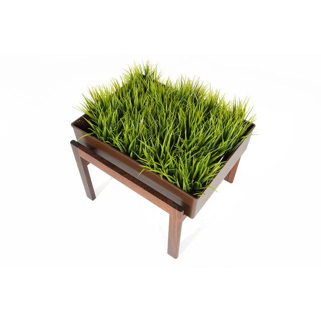 Danish Modern Rosewood Framed Planter - Image 5 of 5
