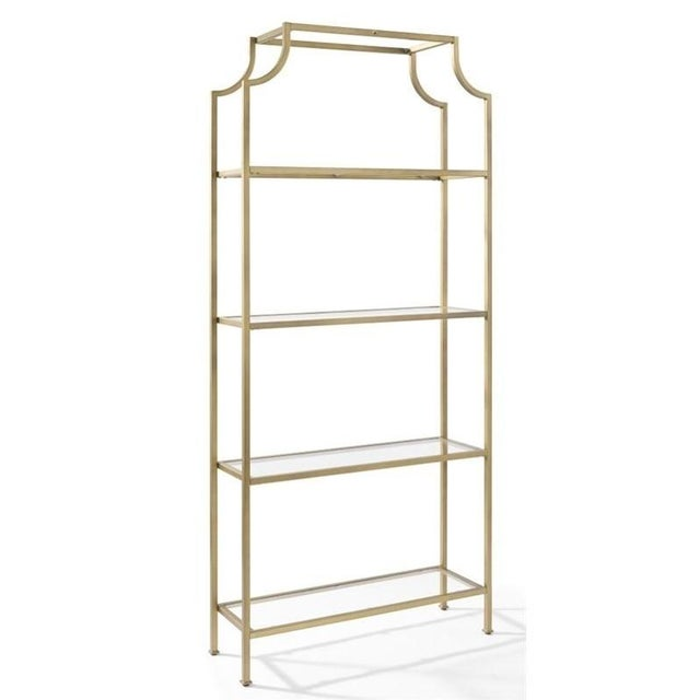 Asian Hollywood Regency Pagoda Etagere For Sale - Image 3 of 11