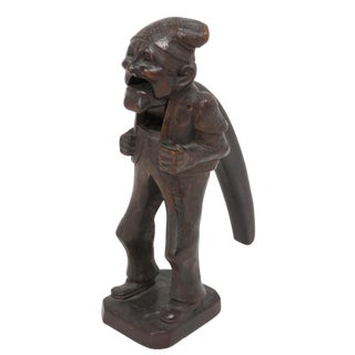 Early 20th Century Antique Black Forest Carved Nutcracker