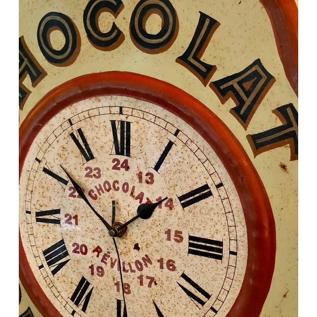 Made as a point-of-sale advertisement, the French Chocolate Revillon clock was traditionally found in shops and cafés all...