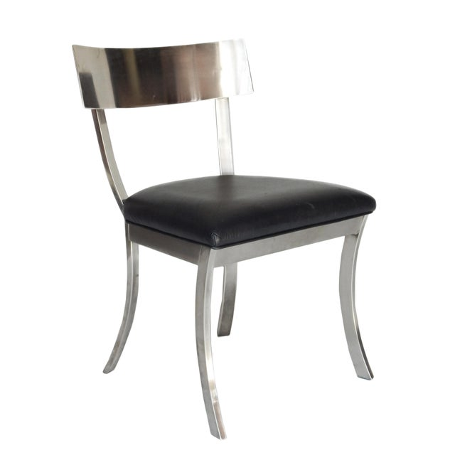 """1960s """"Klismos Style"""" Dining Chairs For Sale - Image 5 of 9"""