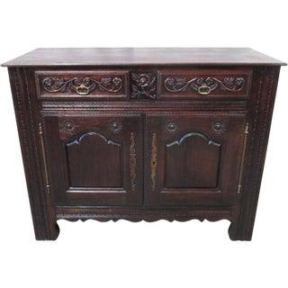 French Antique Carved Sideboard Server For Sale