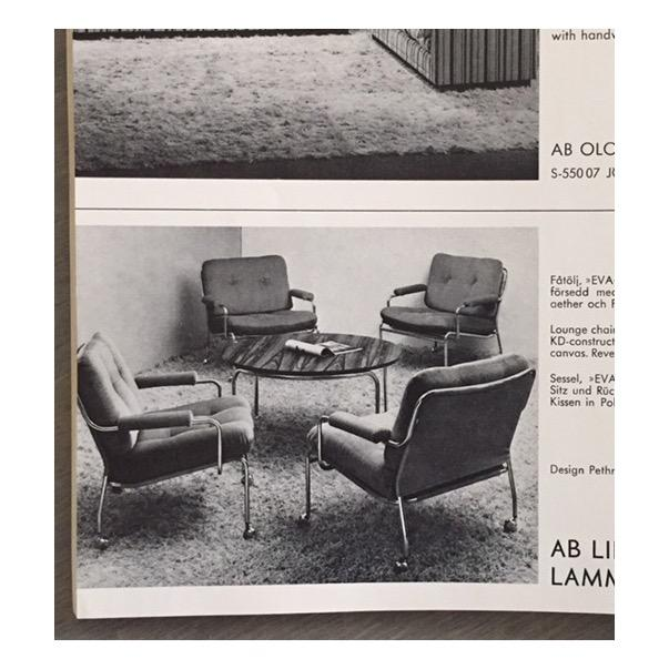 Pethrus Lindlöf Eva Lounge Chairs - A Pair - Image 6 of 7