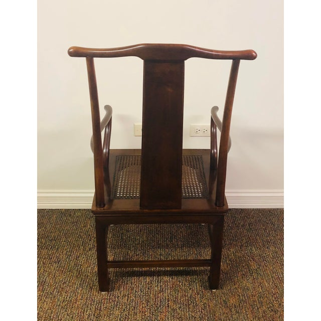 Vintage Henredon Mahogany Dining Set - 6 Pieces For Sale - Image 9 of 10