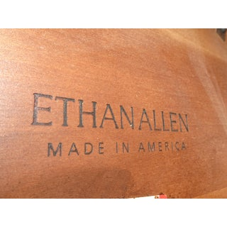 Vintage Modern Contemporary Ethan Allen Avenue Side Table or Entry Key Table Preview