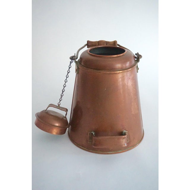 Antique Copper & Brass Kettle - Image 4 of 11