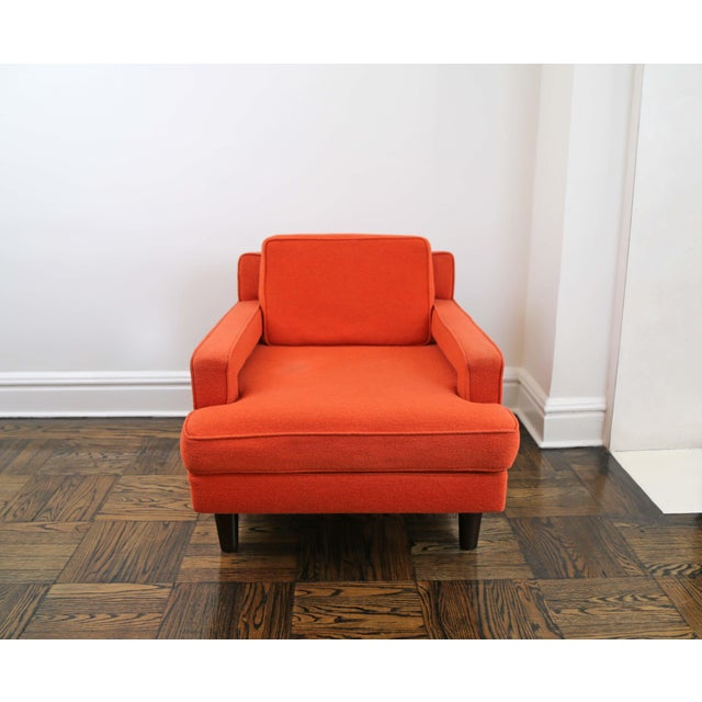 Mid-Century Modern Mid-Century Modern Edward Wormley for Dunbar Club Chairs - a Pair For Sale - Image 3 of 8