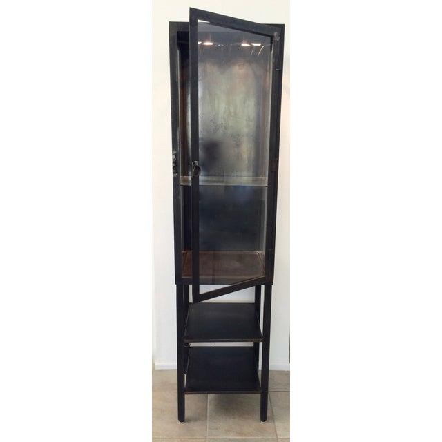 Vintage Industrial Metal Cabinet For Sale - Image 9 of 10