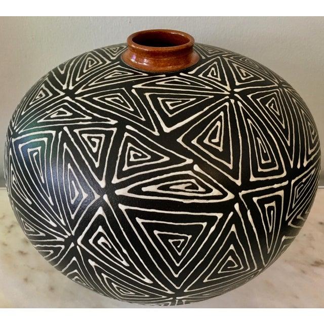 Mid-Century Studio Pottery Vase - Image 3 of 6