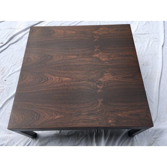 Wood Rosewood Top Mid-Century Coffee Table For Sale - Image 7 of 9