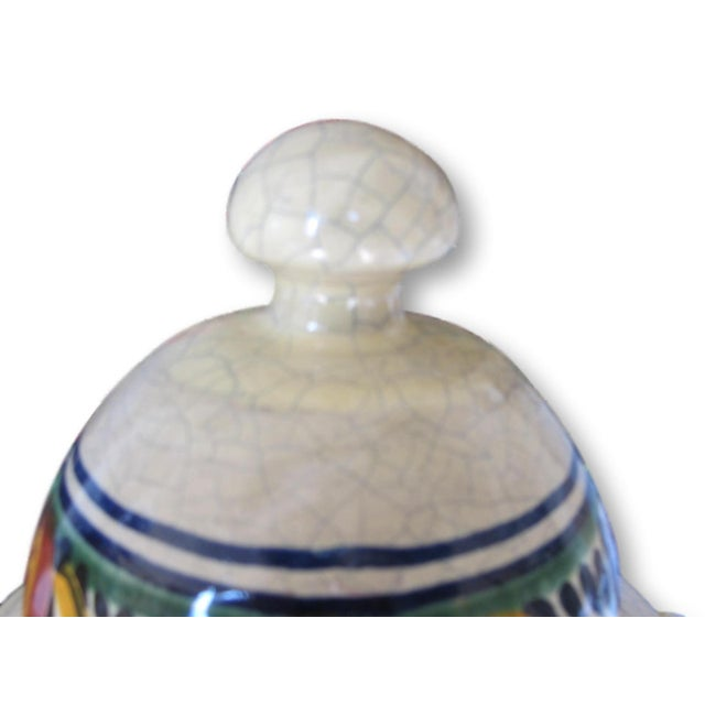 Mexican Pottery Decorative Jar - Image 3 of 9