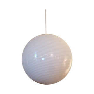 Murano Glass Globe Chandelier For Sale