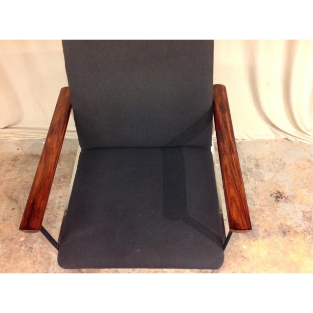 Mid-Century Arm Chairs - Set of 6 For Sale In New Orleans - Image 6 of 8