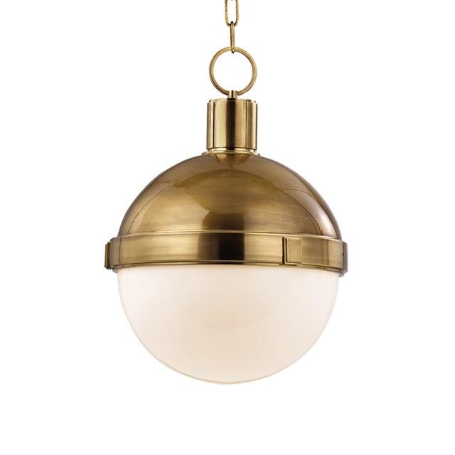 Transitional Lambert 1 Light Pendant For Sale - Image 3 of 3