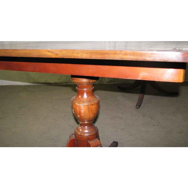 20th Century Traditional Duncan Phyfe Extendable Table For Sale - Image 6 of 10