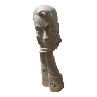 Art Deco Christian Dior Mannequin Display Bust La Femme For Sale