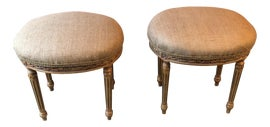 Image of Shabby Chic Ottomans and Footstools