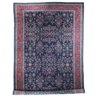 "RugsinDallas Antique Turkish Hand-Knotted Rug - 10'9"" X 19'6"" For Sale"