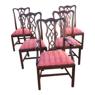 1990s Vintage Henkel Harris Dining Chair- Set of 6 For Sale
