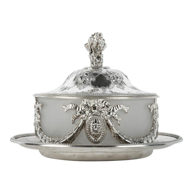 Old English Sheffield Silver Plate Table Display Piece For Sale