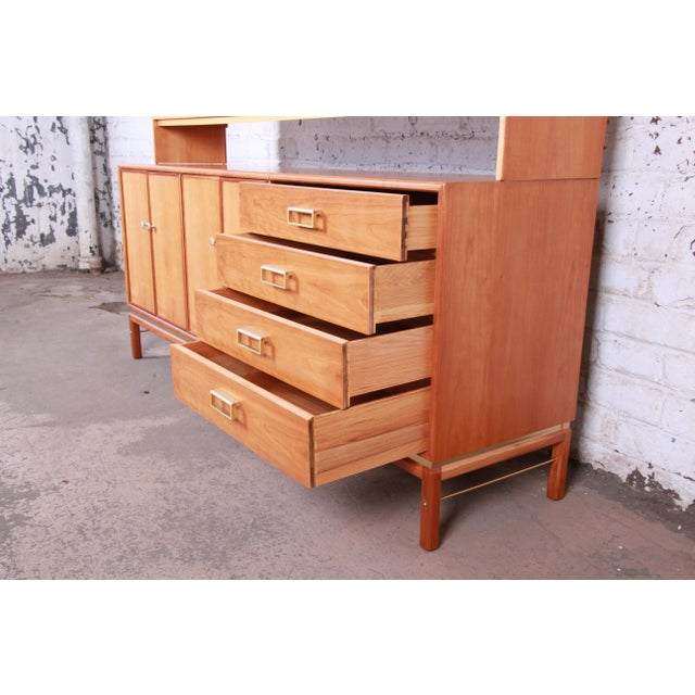 Kipp Stewart for Drexel Sun Coast Cherry Wood Sideboard Credenza, 1959 For Sale In South Bend - Image 6 of 13