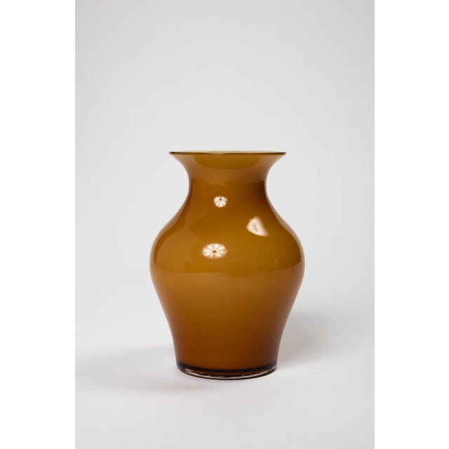 Fortuny by Moretti Madrazo Small Vase in Brown For Sale In New York - Image 6 of 7