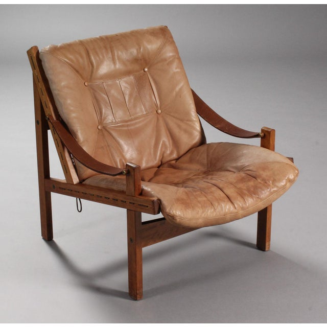 Mid-Century Modern Thorbjørn Afdal Armchairs- A Pair For Sale - Image 3 of 9
