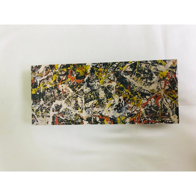 1980s 1980s Vintage Springbok Abstract Art Jackson Pollock Puzzle For Sale - Image 5 of 7