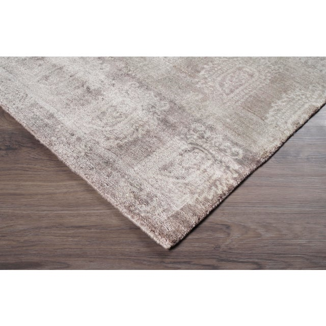 Stark Studio Rugs Contemporary New Oriental Rug - 12 x 15, 100% Bamboo Silk To care for your rug, it's best to have your...