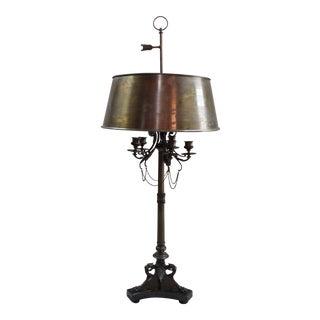 "French Bronze ""Candelabrum"" Lamp"