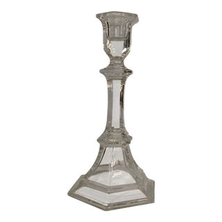 Crystal Candlestick For Sale