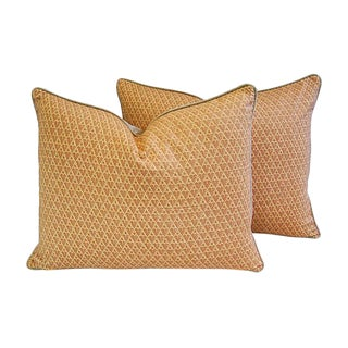 Designer Italian Fortuny Murillo Pillows - a Pair